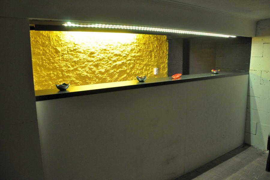 Rheinbundhaus Bar LED gelb