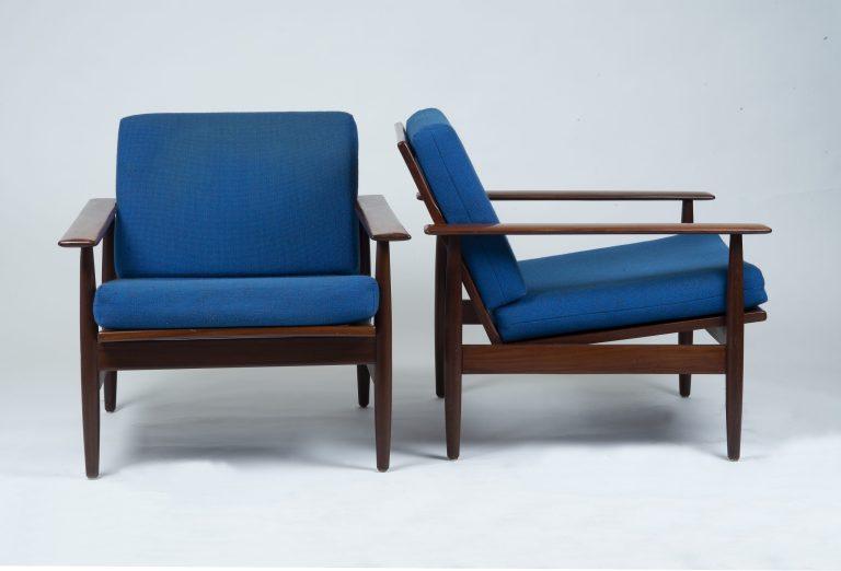 Easy Chairs von Ingmar Relling Teak