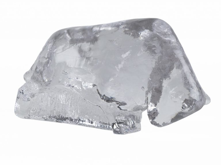 Glas Stier Pukeberg