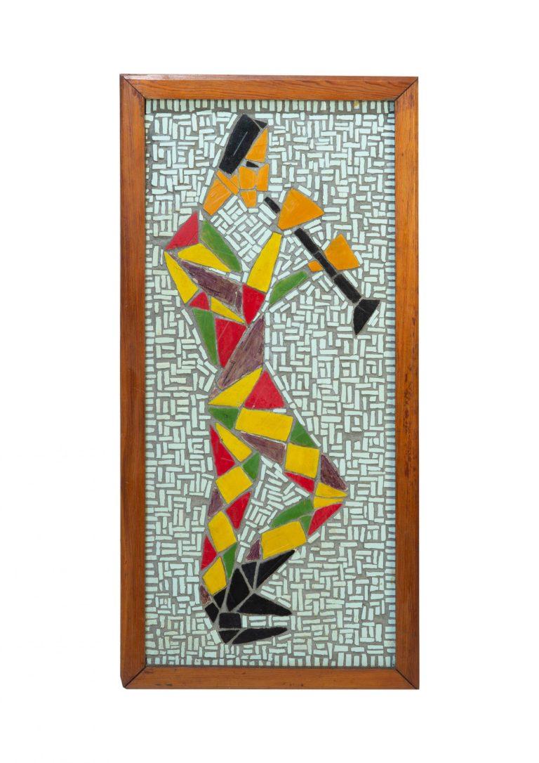 Klarinettist Mosaik