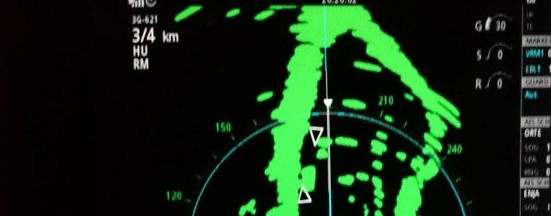 Radarausbildung auf dem Rhein - Radartraining auf dem Rhein