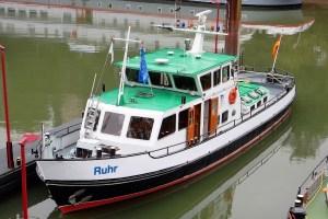 Radarfahrt mit der MS Ruhr - MS Ruhr der Wasser- und Schifffahrtsverwaltung