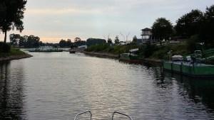 Hafenausfahrt Mondorf
