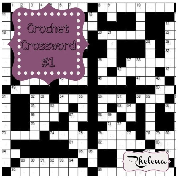 Crochet Crossword #1