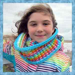 Winter's Infinity Rainbow by Designs from Grammy's Heart, with Love