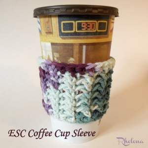 ESC Cup Sleeve by CrochetN'Crafts