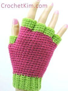 Jersey Mitts by CrochetKim