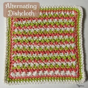 Alternating Dishcloth by CrochetN'Crafts