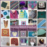 Granny Stitch Crochet Patterns ~ 25 FREE Crochet Patterns