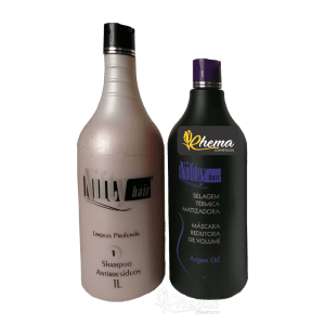Selagem Térmica Matizadora 1000ml Nifty Hair