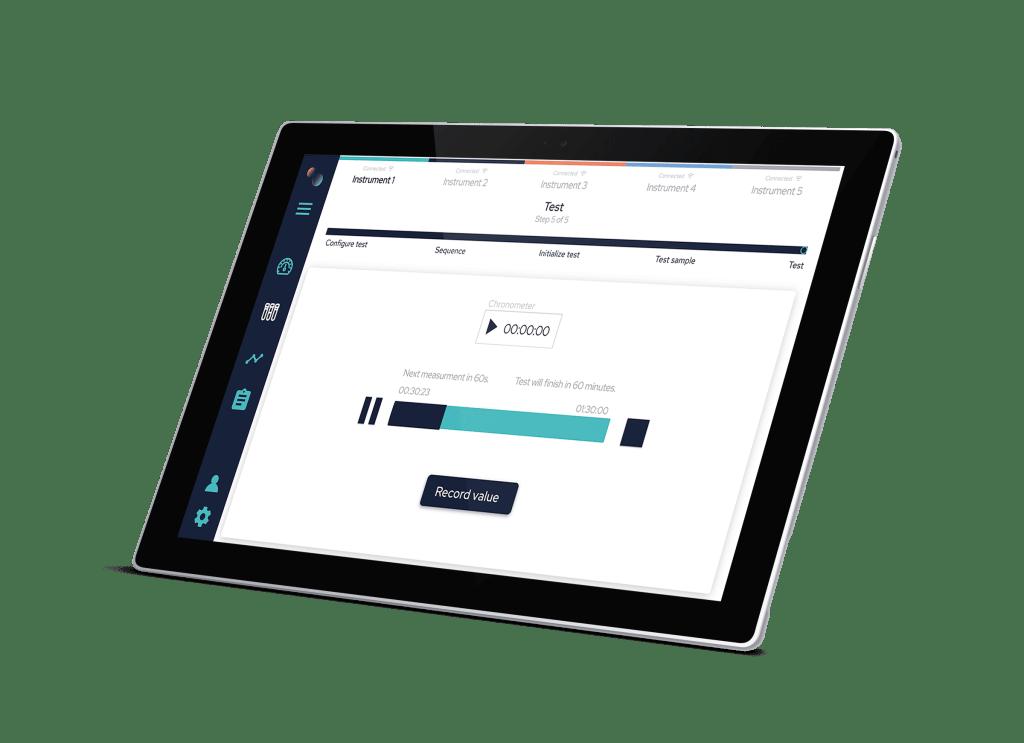 Run a test on ElastoSens Bio