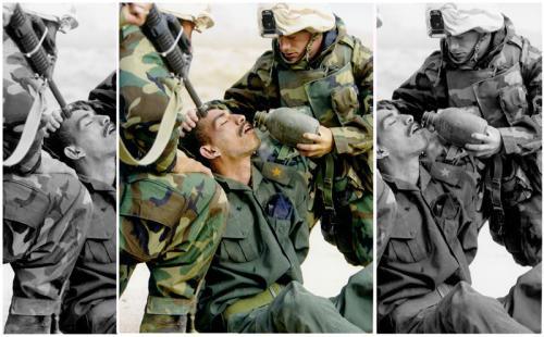 2003 - Irak krieg - das ganze Bild zeigt die Wahrheit