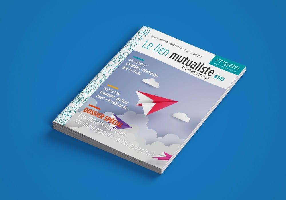 Rhetorike réalise le magazine de la MGAS tous les trimestres.