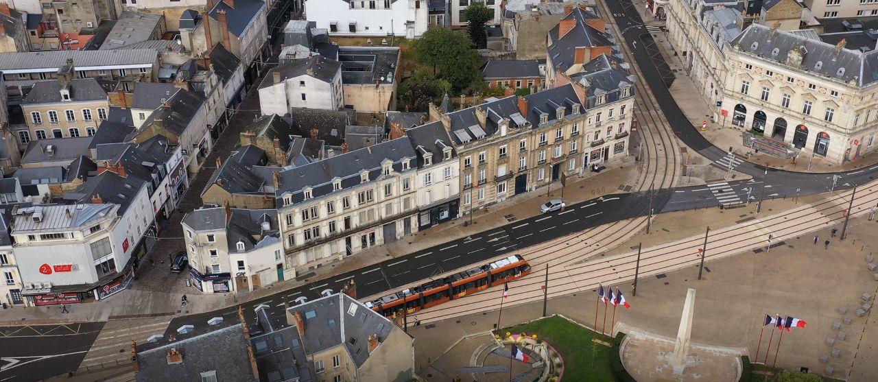 L'agence de communication Rhetorike est situé en plein centre ville du Mans, préfecture de la Sarthe.