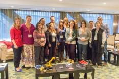 Our first get-together at the Joint Decisions Summit in Boston in late 2014.