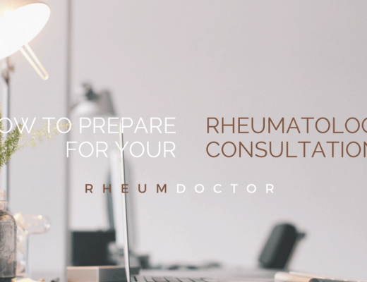 How to prepare for your rheumatology consultation