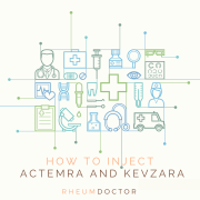 How to inject Actemra and Kevzara