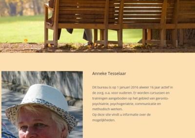 Nieuwe website Anneke Tesselaar