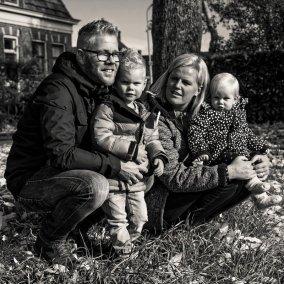 Familieshoot Patrick, Jolien, Fedor en Jula