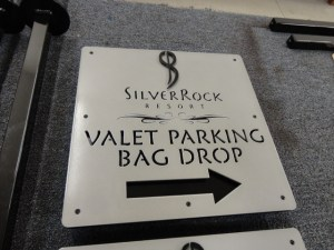 Clubhouse signage for Silver Rock.