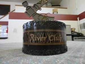 River Club trophy detail