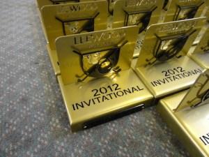 Custom tournament trophies