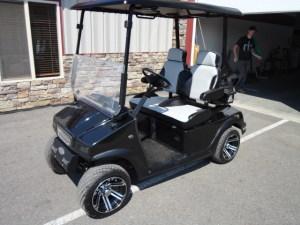 Custom golf carts - available at RHI