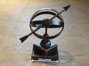 Tournament Champion Trophy-Eastpointe (Armillary)