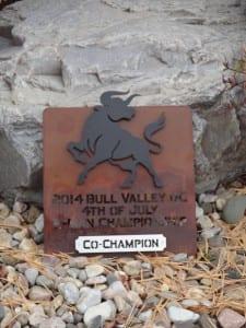 2-Man Championship Award -Bull Valley