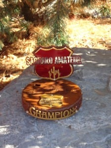 Custom Tournament Trophy -Southern Dunes 2