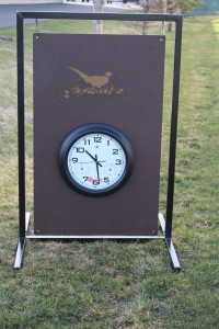 Driving Range Layout Sign -LegacyRidge