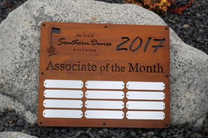 Employee Appreciation Plaque -Southern Dunes