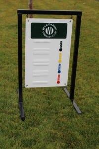 Golf Driving Range Sign -Waccabuc