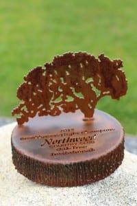 Golf Trophy -Oak tree invitation-Northwood