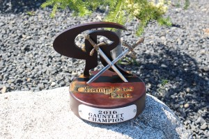 Guantlet Trophies -Champions Run