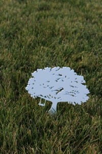 Tee Markers -Carmel Valley (white)