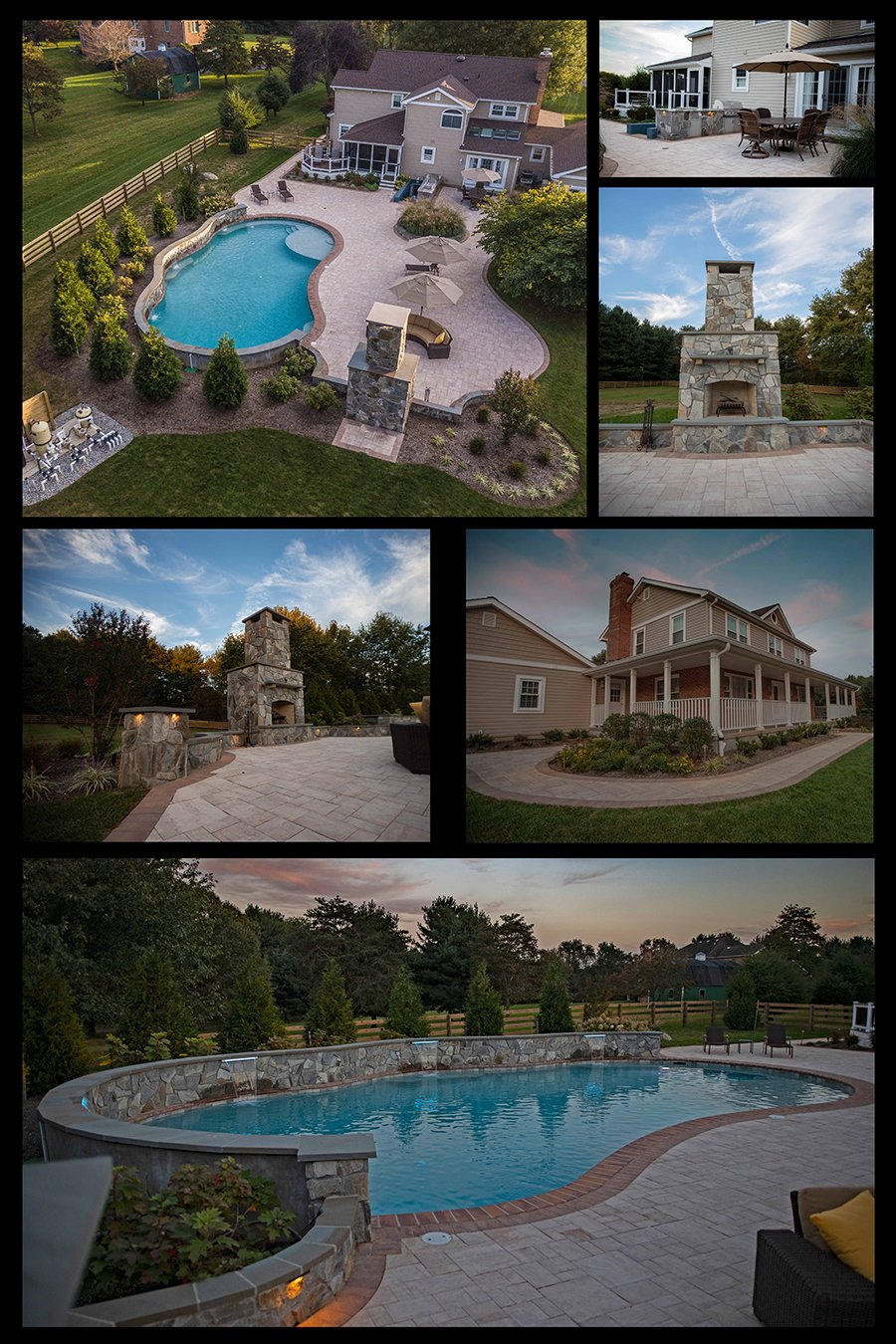 Custom Swimming Pool and Backyard Contractor in Sykesville MD