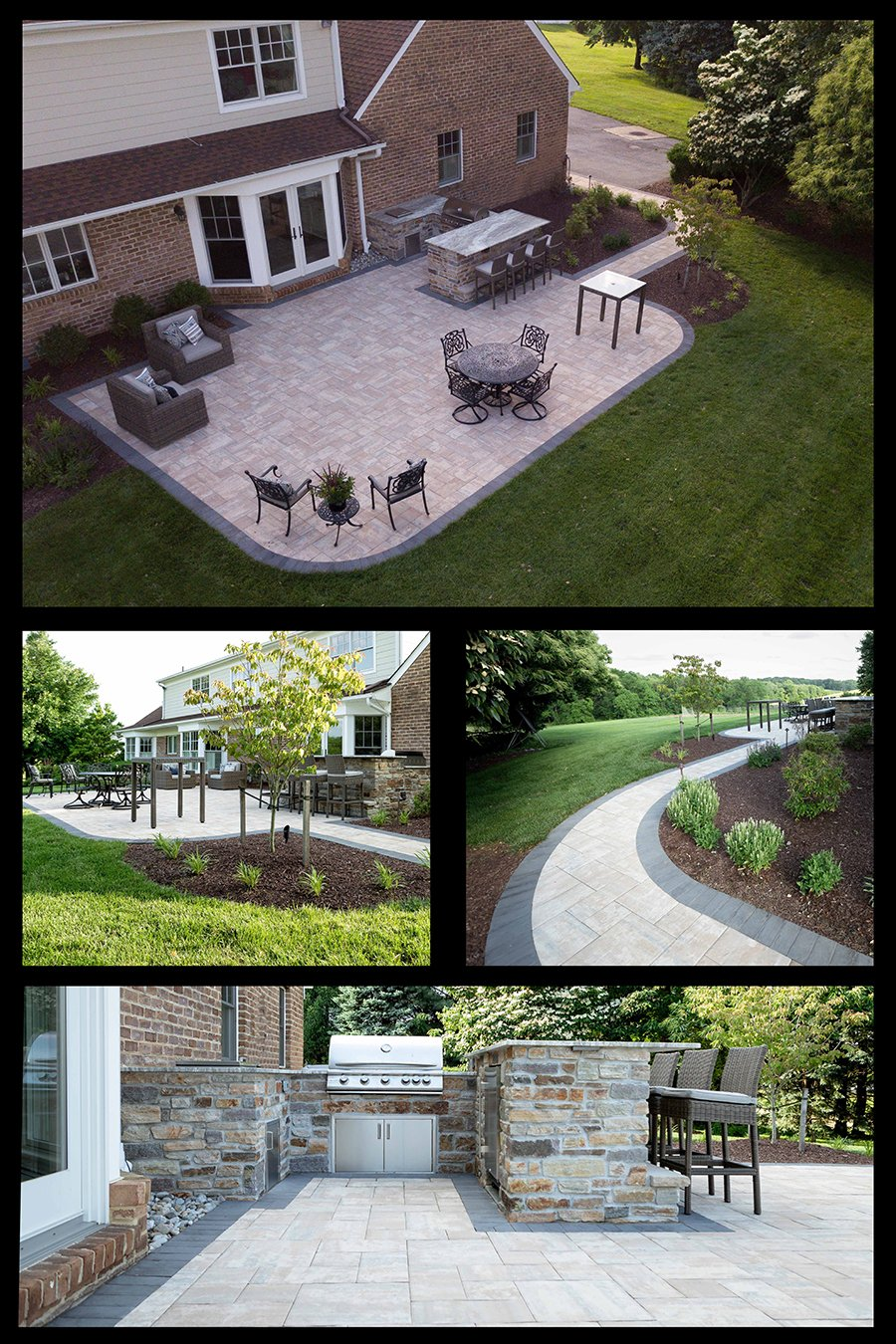 Patio and Kitchen for my backyard, Rhine Landscaping