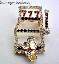 b83c7c2b072 Casino Gambling Pins Brooches Jewelry | Product tags | Rhinestone ...