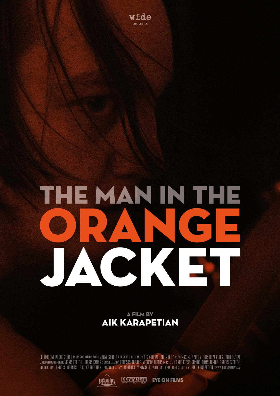 Poster do filme The Man in the Orange Jacket