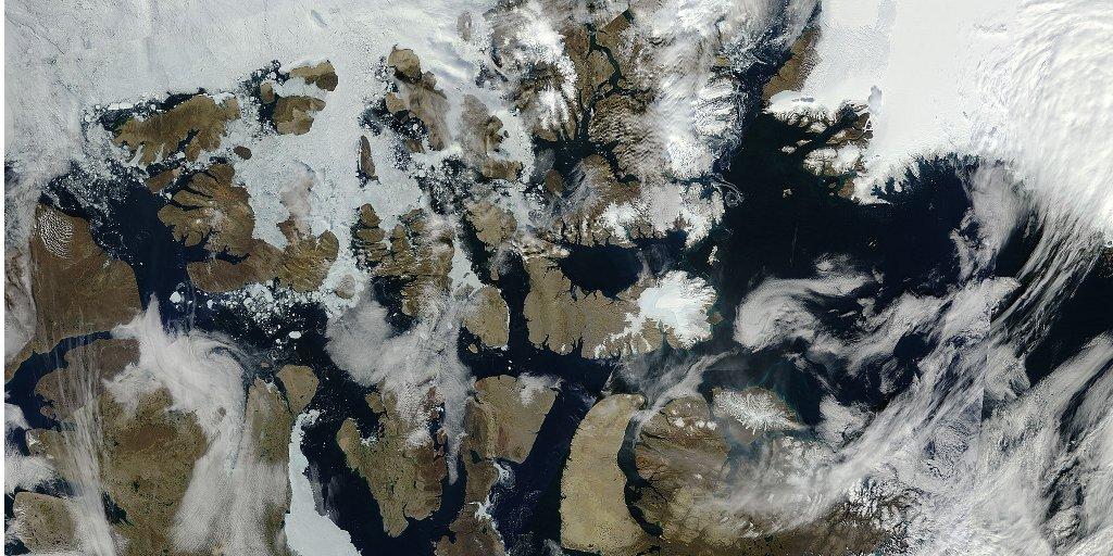 Modis Arctic 2010 08 27