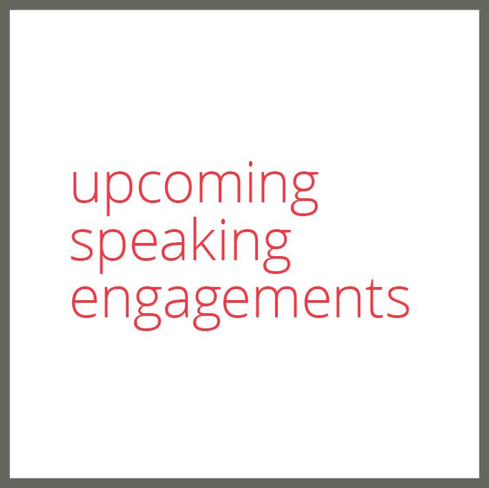 upcoming speaking engagements susan shelby rhino pr