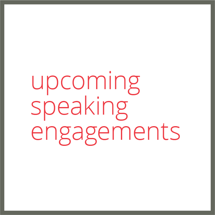 upcoming speaking engagements susan shelby rhino pr