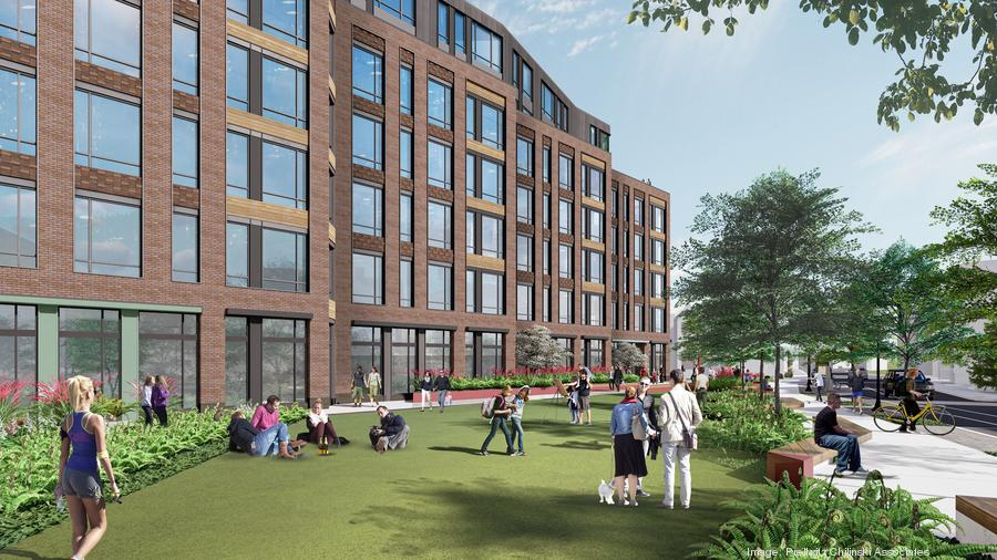 Real estate developer LBC Boston, which isplanning a $140 million mixed-use project inBoston's Allston neighborhood, releasedrenderings showing what the new residentialtowers set to replace six dilapidated three-story buildings and a commercial buildingwill actually look like.