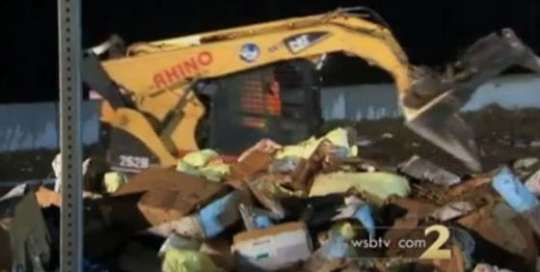 Truck Overturns with 38,000 Lbs of Chicken