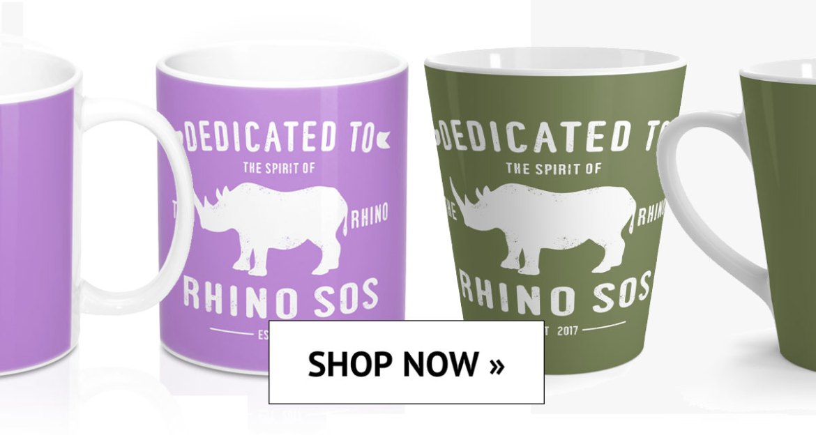 Save the Rhino, Rhino Spirit Tribe Mugs