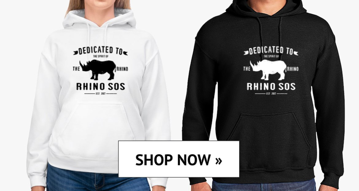Save the Rhino, Rhino Spirit Tribe Hoodies