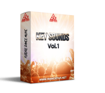 RS Key Sound Vol. 1 new sample pack for electronic dance music production including loops one-shots and presets