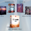 RS Key sounds super Bundle, 5 sample packs in a 50% off, deep house, techno, future house, EDM and production tool box ebook