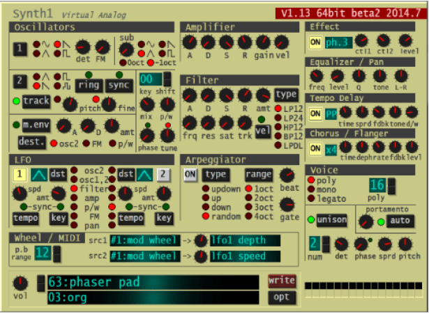 Synth1 Free VST Synth